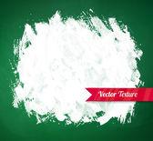 Chalk drawn texture on green chalkboard — Stock Vector