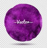 Watercolor circle. — Stock Vector