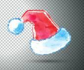 Santa Claus hat. — Stock Vector