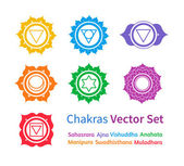 Chakras. — Stock Vector