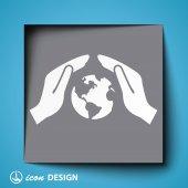 Globe icon — Stock Vector