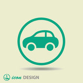 Car icon — Stock Vector