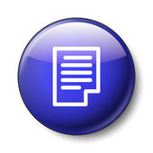 Note icon — Stockvector