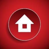 Domácí ikona — Stock vektor