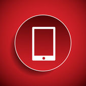 Mobile icon — Stock Vector