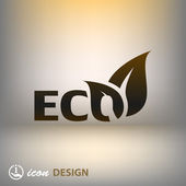 Eco-symbol — Stockvektor