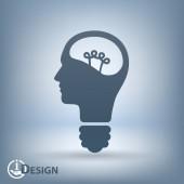 Bulb concept — Stock Vector