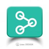Share icon — Stock Vector