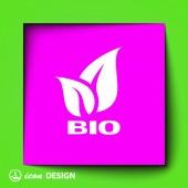 Eco leaves icon — Stockvector