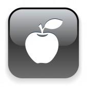 Apple icon — Stock Vector