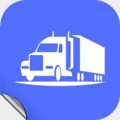 Icône de camion — Vecteur