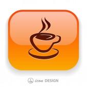Icono de la taza — Vector de stock