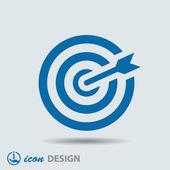Target icon — Stock vektor