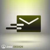 Icona di mail — Vettoriale Stock