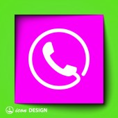 Phone icon — Vetorial Stock