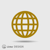 Globe icon — Stock Vector