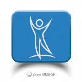 Success people icon — Stock Vector