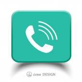 Celular icono — Vector de stock
