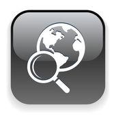 символ земного шара — Cтоковый вектор