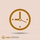 Icône de l'horloge — Vecteur