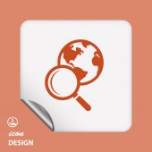 Search icon — Stock Vector