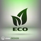 Eco-pictogram — Stockvector