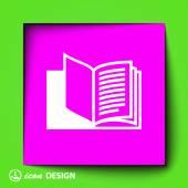 Book icon — Stock Vector