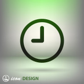 Clock icon — Stockvektor