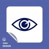 Eye icon — Stock Vector