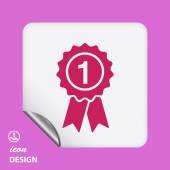 Award icon — Stock Vector