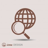 Search icon — Stock Vector