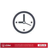 Pictograph of  clock with arrow — ストックベクタ