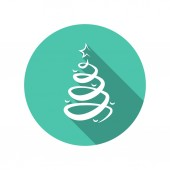Pictograph of christmas tree — Wektor stockowy