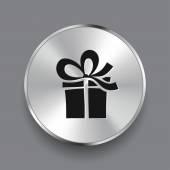 象形文的礼物图标 — 图库矢量图片