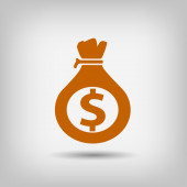 Pictograph of money icon — Stock Vector