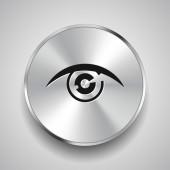 Pictograph of eye icon — Stock Vector
