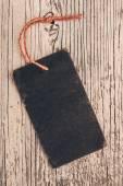 Blank black cardboard paper — Stockfoto