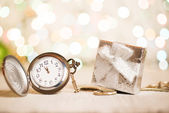 New year clock — Stock Photo