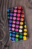 プラスチック製の携帯電話ケース — ストック写真