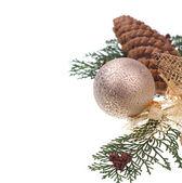 Bola decorativa de natal — Foto Stock