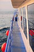 Tramonto sul mare — Foto Stock