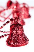 Cloche de Noël rouge — Photo