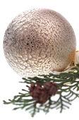 Christmas decorative ball — Stock Photo