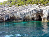 Blue Caves — Stock Photo