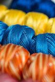 Ball of yarn for knitting — Stock Photo
