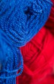 Clew of yarn for knitting — Stock Photo