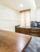 Contemporary kitchen interior — Stock Photo