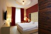 Wnętrza hotelu sypialnia — Zdjęcie stockowe