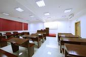 Sala de aula vazia na faculdade — Fotografia Stock