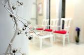 Modern interior -waiting room — Stock Photo